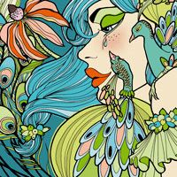 Peacock Feathers: Natalie Ferstendik