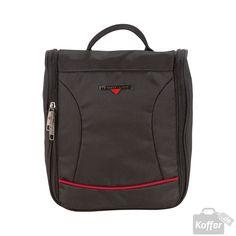 Hardware O-Zone Washbag Black/Red