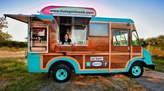 Hula Girl Truck - Food Truck Design - by Seth Design Group