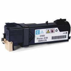 Toner Xerox Phaser 6130 Ciano Compatível  Durabilidade: 1.900 páginas - Para uso nas impressoras Xerox Phaser 6130, 6130N  Modelo: 6130   Garantia: 90 Dias  Referência/Código: TCXP6130C
