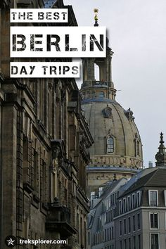 Have an extra couple days in Berlin? Dig deeper into Germany's capital region and beyond with these Berlin day trip ideas: https://www.treksplorer.com/day-trips-from-berlin-germany/
