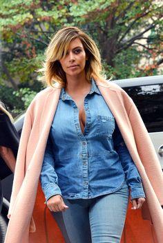 Kim Kardashian Photos - Kim Kardashian Heads to Lunch in Paris - Zimbio