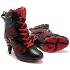 Air Jordan 6 High Heel Red Black