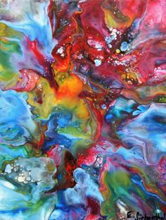 Eric Siebenthal - Abstract Artist - Acrylicmind.com