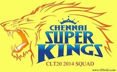 Want to know players list of Chennai Super Kings for CLT20 2014? Then check out Chennai team squad for Champions League T20 season-6. MS Dhoni to lead csk.