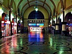 Eisenach Hauptbahnhof w Eisenach, Thüringen