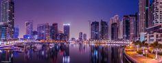 Photo Dubai Marina Panoramic View by Massimiliano Clari on 500px