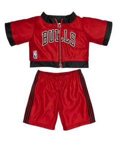 Chicago Bulls Warm-Ups 2 pc. Custom Teddy Bear, Online Gift Shop, Build A Bear, Chicago Bulls, Gym Shorts Womens, Baby Boy, Warm, Building, Workshop