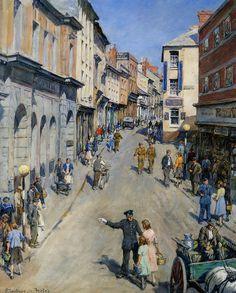 "Stanhope Forbes - ""Causewayhead, Penzance"" 1943"