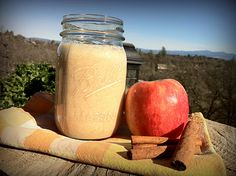 Raw Kefir Apple Pie Smoothie. This site has a bunch of kefir recipes that look amazing!