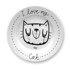 More Illustrated Plates by Anna Johnstone, via Behance
