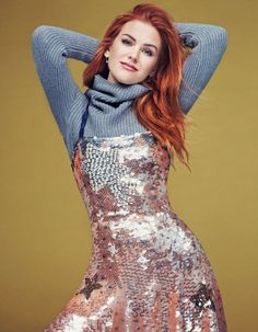 - Isla Fisher - Glamour Magazine (Mexico) October - 3 of 9 Isla Fisher, Hottest Redheads, Glamour Magazine, Beautiful Redhead, Celebs, Celebrities, Famous Women, Beautiful Actresses, Celebrity Style