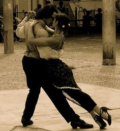 Argentine tango... can't get any better than when your man swings you around the dance floor...