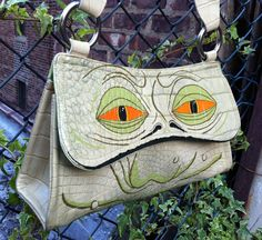 Star Wars Jabba the Hutt purse. Upcycled and hand von catpenfold
