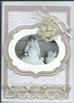 vintage wedding card