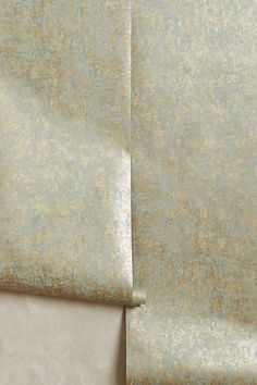 """Grace-Weathered Wallpaper #anthropologie 4 colorways Adhesive required Non-woven paper Roll: 33'L, 21""""W Repeat: 30""""L Covers 57 square feet UK Style No. 34270777"""