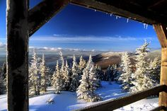winter wonderland - charlevoix, quebec