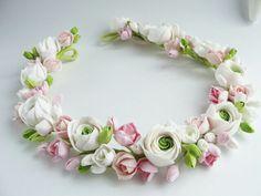 Wedding. Wedding accessories. Wedding flowers. Flowers. Handmade flowers. Crown. Halo. Diadem. Свадебные аксессуары. Невеста. Украшение для волос. Венок.