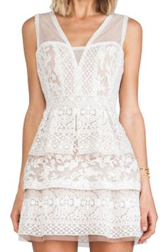 BCBGMAXAZRIA  OMG I tried this dress on and wanted to cry because it's so expensive and so beautiful.
