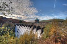 Craig Goch Dam, Elan Valley Of Wales, United Kingdom