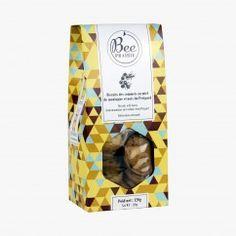 Biscuits des sommets au miel de montagne et noix du Périgord - Bee Prairie