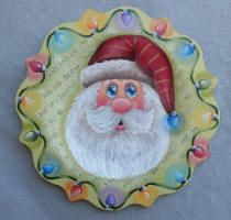 Just Fine Designs Painting Patterns by Sandy LeFlore Wooden Christmas Ornaments, Christmas Signs, Christmas Projects, Christmas Art, Christmas Ideas, Santa Paintings, Wall Painting Decor, Santa Crafts, Tole Painting Patterns
