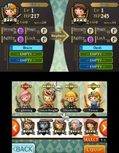 THEATRHYTHM 3DS_UI