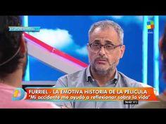 Joaquín Furriel, al desnudo en un mano a mano con Intrusos