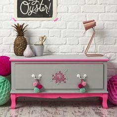 How to Cross Stitch Furniture