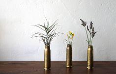 Artillery shell vases