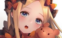 Download wallpapers Abigail Williams, art, Foreigner, Fate Grand Order, TYPE-MOON