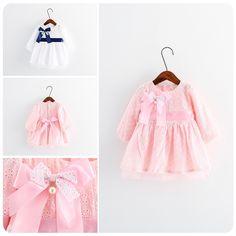 28.00$  Watch here - https://alitems.com/g/1e8d114494b01f4c715516525dc3e8/?i=5&ulp=https%3A%2F%2Fwww.aliexpress.com%2Fitem%2F2016-Spring-New-Product-Korean-Children-s-Garment-Girl-Baby-Silk-Ribbon-Bow-Embroidery-Dress-Girl%2F32735361863.html - 2016 Spring New Product Korean Children's Garment Girl Baby Silk Ribbon Bow Embroidery Dress Girl Jacket Full Dress