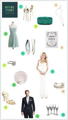 REVEL Picks: Martha Stewart Weddings Favorites