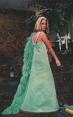 Maria Stella, presents the creations of Dener,for Autumn /Winter 1968. Magazine:O Cruzeiro, June 1968.