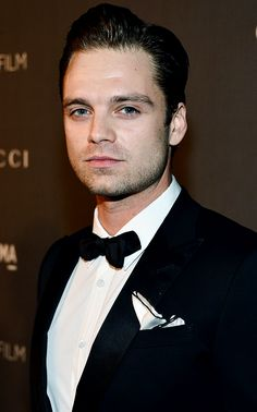 Sebastian Stan at the LACMA Art and Film Gala on October 27th, 2012.