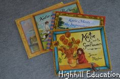 Katie - Art books for kids that tell stories and teach