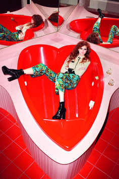 Natalie Westling by Terry Richardson for Vogue Italia March 2015