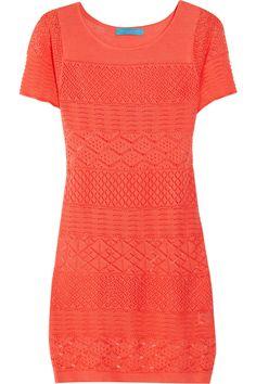 Matthew Williamson, crochet-knit tunic