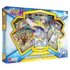 Excell Pokemon Trading Card Game Aurorus EX Box