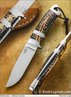 Not a huge fan of the sub-hilt, but the lines are very nice Knives And Tools, Knives And Swords, Unique Knives, Hand Forged Knife, Sharpies, Knife Handles, Handmade Knives, Fixed Blade Knife, Custom Knives