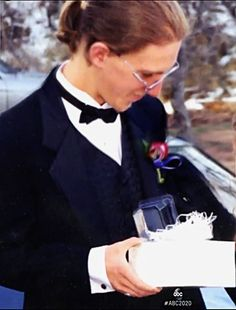 Dylan Klebold ready for prom.