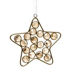 Add some subtle gold tones to your tree with the casa star in gold