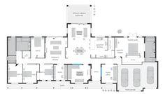 Bronte Executive Grande Manor One acreage house plans