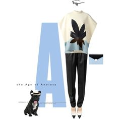 """""""A!"""" by amandalouvre on Polyvore"""