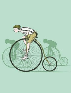 Old School Cycling by Flying Mouse2007, via Flickr