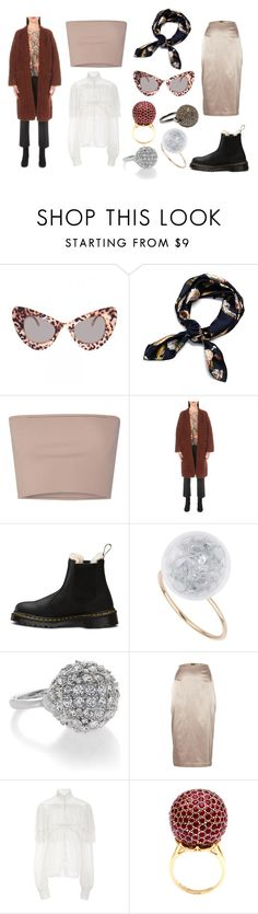 """See I could do without a tan on my left hand, where my fourth finger meets my knuckle."" by mymind-is-a-warrior ❤ liked on Polyvore featuring Calvin Klein Collection, Chloé, Miss Selfridge, Kenneth Jay Lane, By Malene Birger, Rodarte, Tanagro, Jade Jagger, cardigan and chloe"