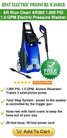 Best Electric Pressure Washer 2015 http://www.pressurewasherguides.com/