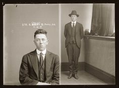 1921-A picture of Sidney Grant (alias 'Pretty Sid') appears in the 'Criminal Photographs' section of the New South Wales Police Gazette, 2 May 1923 captioned 'Confidence man (notes for gold)'.