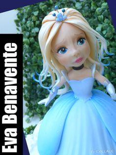 Top cake inspirationbaby Cinderella