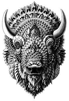 Bison by BioWorkZ